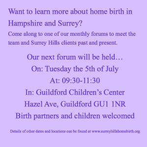 July 16 forum
